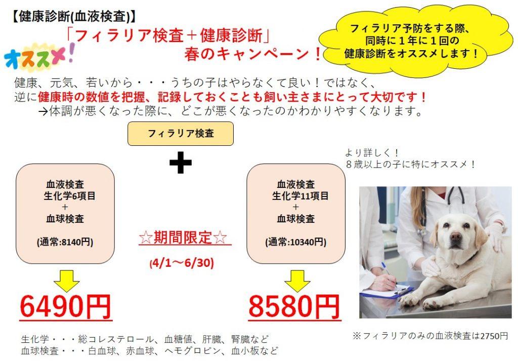 犬の健康診断DOGCATCOCO