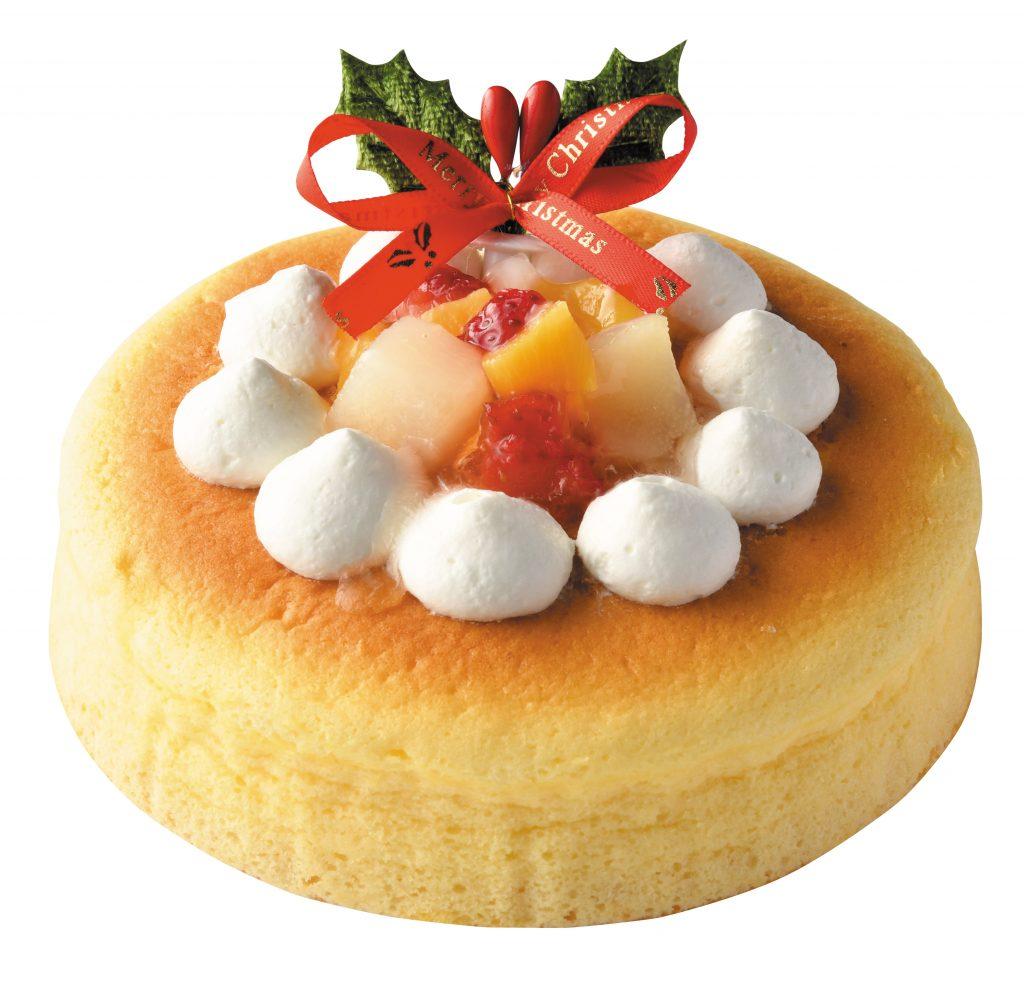 2021年ペット用クリスマスケーキ_チーズスフレ